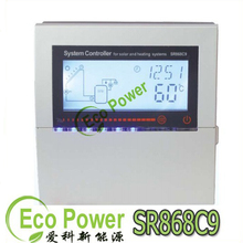 SR868C9 solar heat water controller for heating system ,SR868C9 Solar Heating System Controller indicating light of Temperature