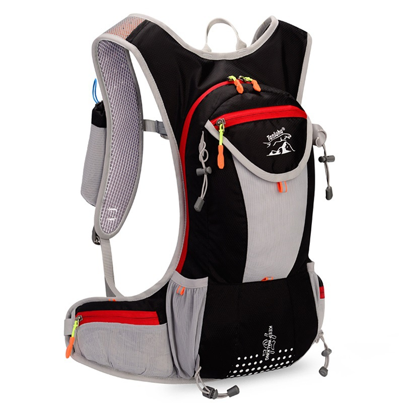 Men Women Bicycle Hydration Backpack Camelback With 2L Water Bladder Light Weight Travel Walking Backpacks Bag<br>