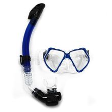 Dive Diving Mask Goggles Dry Snorkel Combo Set Swimming Scuba Snorkeling Gear