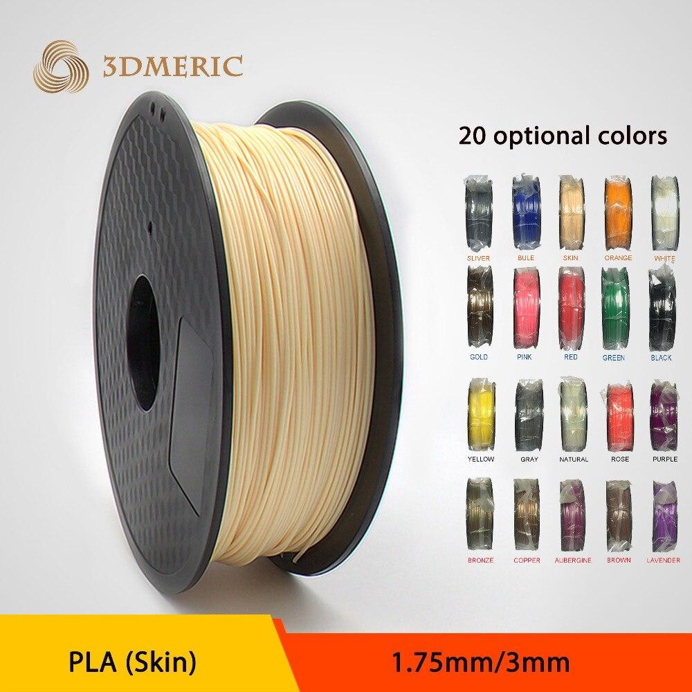 Wholesale 3D Printer Filament PLA 1.75mm/3mm 1kg Consumables Material For MakerBot/RepRap/UP/Mendel/Ultimaker/Makergear<br><br>Aliexpress