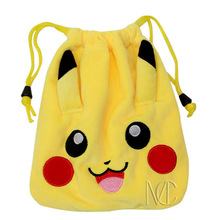 Anime Pikachu/Pocket Monster Pikachu Jewelry/Cell Phone Drawstring Pouch/Wedding Party Christmas Gift Bag (DRAPH_1)