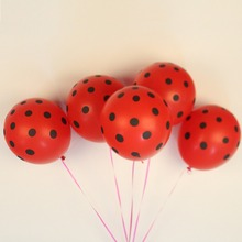 Buy 12ihch 20pc Latex Polka Dot Balloon red black Party Wedding Decoration Thicken Birthday Party Decor globos Helium balloon for $2.80 in AliExpress store