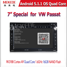 Android 5.1 Quad-Core Car DVD Player For VW/Volkswagen/PASSAT/B5/MK5/GOLF/POLO/TRANSPORTER With Radio GPS Navigation BT 1080P(China)