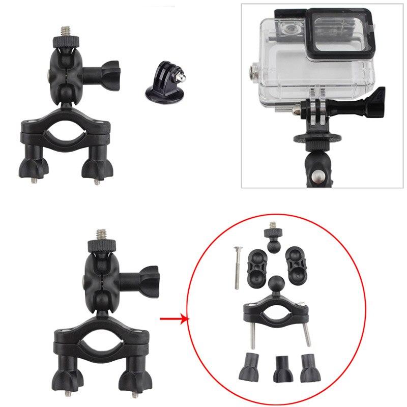 OOTDTY Bike Motorcycle Handlebar Seatpost Mount Holder For Hero 4 3 3+ 2 Action Camera