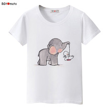 BGtomato Children's printing personality cartoon t shirts for women lovely creative summer shirts Good quality soft tops