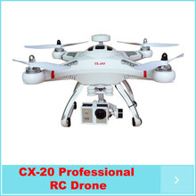 RC 4-Axis Control Quadcopter  Drone Cheerson CX20 2.4GHz Remote Control AUTO-Pathfinder Aircraft FPV RTF& GPS big fly shark