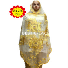 1612t1608d08 african scarf Black+Gold Fashion design beautiful African net lace fabric with sequins, 2016 Most popular French