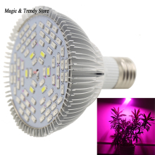 E27 30/50/80W Full Spectrum Led Grow Light Growing Lamp Plant Sunshine Supplement Lights Hydroponics System Led Lighting(China)