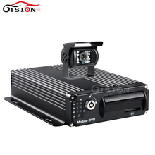 SD Card Mobile Dvr Kits 4CH Video/Auido Input G-sensor Cycle Recording Video Playback Car Bus Mdvr With Waterproof  Camera