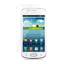 Free Shipping HD Power Support Film Set Anti-Glare Screen  Protector for Samsung GALAXY Trend I699 Screen Protector