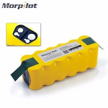 Morpilot 14.4V 3800mAh Ni-MH Rechargeable Battery for iRobot Roomba 500 510 530 531 535 540 545 550 551 552 560 562 570 580 581(China)