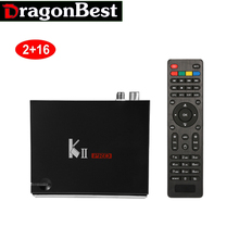 Buy KII Pro 2GB/16GB DVB S2+T2 Android TV Box Amlogic S905 Quad-core Support DVB-S2/ DVB-T2 Smart Media Player for $93.84 in AliExpress store