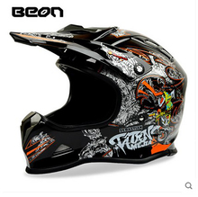NEW ARRIVAL BEON Motorcycle Helmets ATV MTB Dirt bike off road racing helmet casque casco Moto ECE approved Motocross helmets(China)