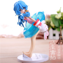 "Free Shipping Sexy 7"" Date A Live Anime Yoshino Hermit Swim Wear 1/7 Scale 18cm PVC Action Figure Collection Model Toy christmas"
