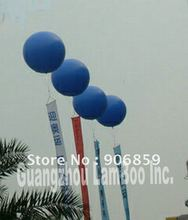 Free Shipping Large 2.5m Diameter Blue Inflatable Helium Balloon Ball /You can add your Banners/Different colors