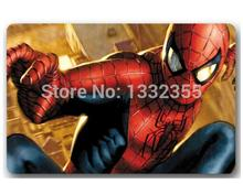 Custom Machine-Washable Cool Spider man Door Mat Indoor/Outdoor Decor 40x60cm Rug Doormat Room Decoration