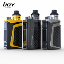 Buy IJOY RDTA Box Mini Kit 100W Starter vape electronic smoke Built-In Li-Po 2600mAh Battery 6ml E-Juice Tank Coil Box Mod Vaporizer for $48.99 in AliExpress store