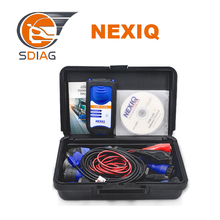 2017 New arrival nexiq truck diagnostic tool nexiq 125032 usb link with AAA++ QUALITY NEXIQ software dhl free shipping