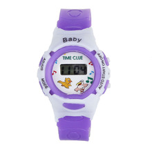Creative Watches Children Unisex Silicone Colorful Boys Girls Students Time Clock Electronic Digital LCD Wrist Sports Watch