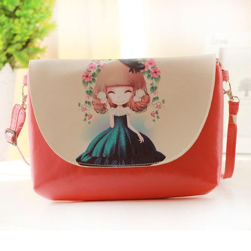 Cartoon PU Leather Zipper Women HandBags Fashion Handbags Children Messenger Bag Shoulder Bag for kindergarten Girl Design 15<br><br>Aliexpress