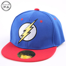 For 3-8 Years 2017 New Kids Baseball Cap Fashion Flash Embroidery Letter Children Snapback Caps Boys Girls Hip Hop Hat Sun Hats(China)