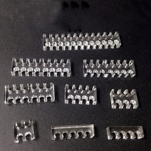 FormulaMod Cable Combs / Cable Clamp / Clip for 24/16/14/12/8/6/5/4Pin Sleeving (4mm) Cables -----Transparent