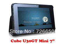 "For Cube U30GT Mini luxury leather case , Original Fashion Cover For Cube U30GT 7""(China)"