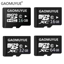 GAOMUYUE Flash Mini sd card 8GB Class6 Micro sd card in memory cards 16GB 32GB 64GB Class10 for phones 128GB TF & SD cards DL6(China)