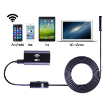 8mm Lens Wifi Android Iphone Endoscope Camera 1M 2M 3.5M 5M Waterproof Snake Tube Pipe Borescope 2.0M Iphone Camera Endoscope