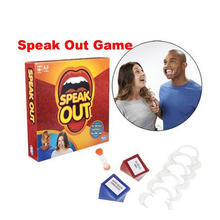 New Speak Out Board Game Mouthguard Ridiculous Challenge Game Home Family funny Toy Christmas Birthday Gift New