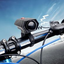 Safety Bicycle Bell Horn Strong Loud Air Alarm Sound Bike Horns Electronic Bike Handlebar Ring Horn(China)