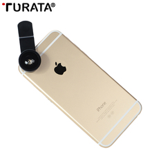 Buy TURATA 5 1 Fisheye Lens HD Phone Camera Lens 0.67X Wide Angle+10X Macro+Polarized Lens Clip-on Fish eye Smartphone for $11.77 in AliExpress store