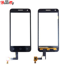 BKparts 1pcs For Alcatel One Touch 4027 OT4027 4027D 4027X OT5017 Touch screen panel Glass Digitizer Replacement Free Shipping(China)