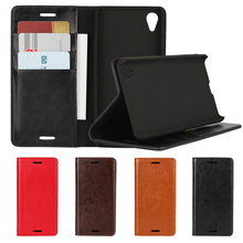 Deluxe Wallet Case For Sony Xperia X Performance Genuine Cow Leather Case Flip Cover Real Skin Phone Bags