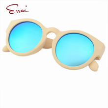ERRAI 2017 New Arrival Limited Girls&Boys Round Sunglasses Removable Glasses Legs Plastic Frame General Goggles Wayfarer Gafas