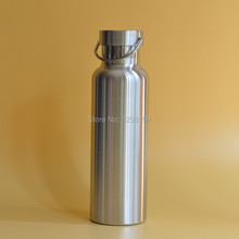 600ml Great Quality 304 Stainless Steel Vacuum Cup Outdoor Sports Camping Bicycle Water Bottle, Lightweight(China)