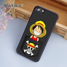 MaiYaCa new Smile Luffy One piece fashion soft mobile cell Phone Case Cover For iPhone 6 6S Custom DIY cases luxury shell(China)