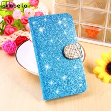 Diamond Glitter Bling Cell Phone Cases For Samsung Galaxy J2 2013 J200Y J200GU J200F J200H J200G Shell Cover Wallet Housing Bag