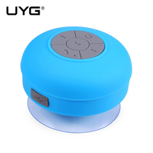 UYG BTS-06 Wireless Bluetooth Speaker Waterproof Portable Stereo Bluetooth Speakers With Microphone for Mobile Phone Computer