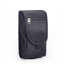 "Unisex Pratical Nylon Outdoors Utility Gadget Bag Cellphone Holster Case Belt Clip Pouch Waist Pack for Samsung Galaxy Note 5.5""(China)"