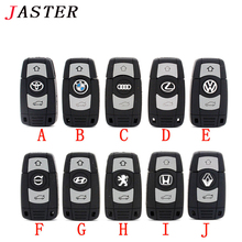 JASTER Brand New Silicone Car Key USB Flash Drive pendrive 4gb 8gb 16gb 32gb 64gb Pen Drive Memory stick USB Stick fashion gift