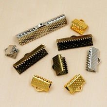 FREE SHIPPING metal DIY 6mm-30mm Jewelry Findings Accessories Vintage Textured End Caps Crimp Beads Clasp fit jewelry making