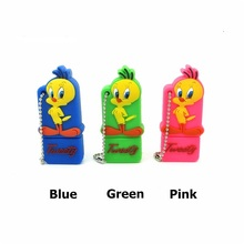 Lovely Tweety Bird usb flash drive disk 32gb memory stick 16gb pendrive Pen drive personalizado mini Looney Tunes gift 4gb 8gb