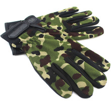Cotton Sports Glove Outdoor Thin Antiskid Sunscreen Breathable Full Finger Half Finger Mittens for Man Woman In Autumn Spring(China)