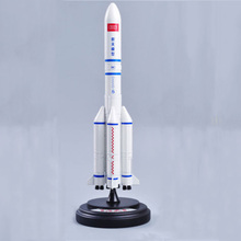 1:200 Scale Diecast Alloy Rocket Long March 5 Land Rocket Space Model Military Collections(China)