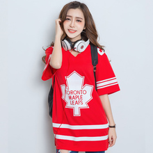 Women Sport Short Sleeve Maple leaves Jersey Rugby/Hockey/Baseball/Tennis/Basketball T shirt/Camisetas/Clothes Mujer/Femme/Girls