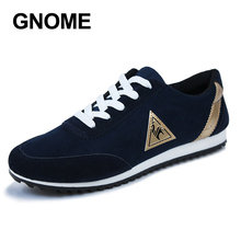 GNOME Mens Casual Shoes Fashion Canvas Shoes for Men Plus Size 47 Summer Autumn Flats Fashion Breathable Male Shoes Sneakers Men(China)