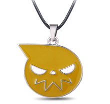 MS JEWELS 6pcs Batch Japan Anime Soul Eater Soul Logo Pendant  Metal Necklace Cosplay Jewelry Wholesale Free Shipping