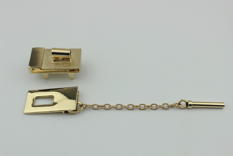 Lock for Bags Luggage Suitcase Metal Lock Lockbutton
