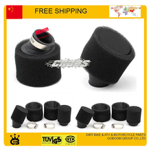 motorcycle atv quad 150cc 200cc Pit bike air filter foam black color 48mm size free shipping